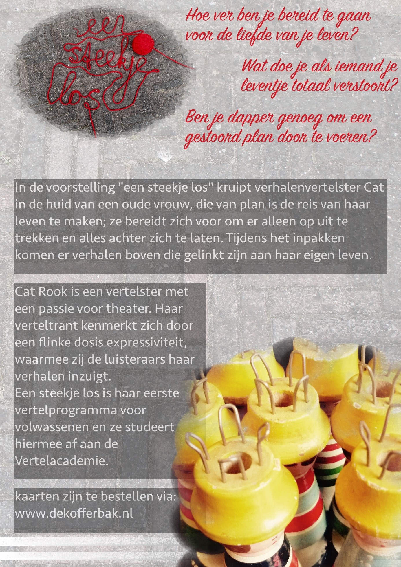 Flyer Steekje los